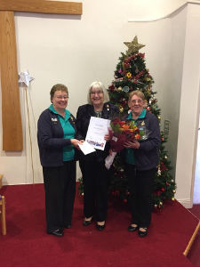 Heather Andrews - 50 Years Service